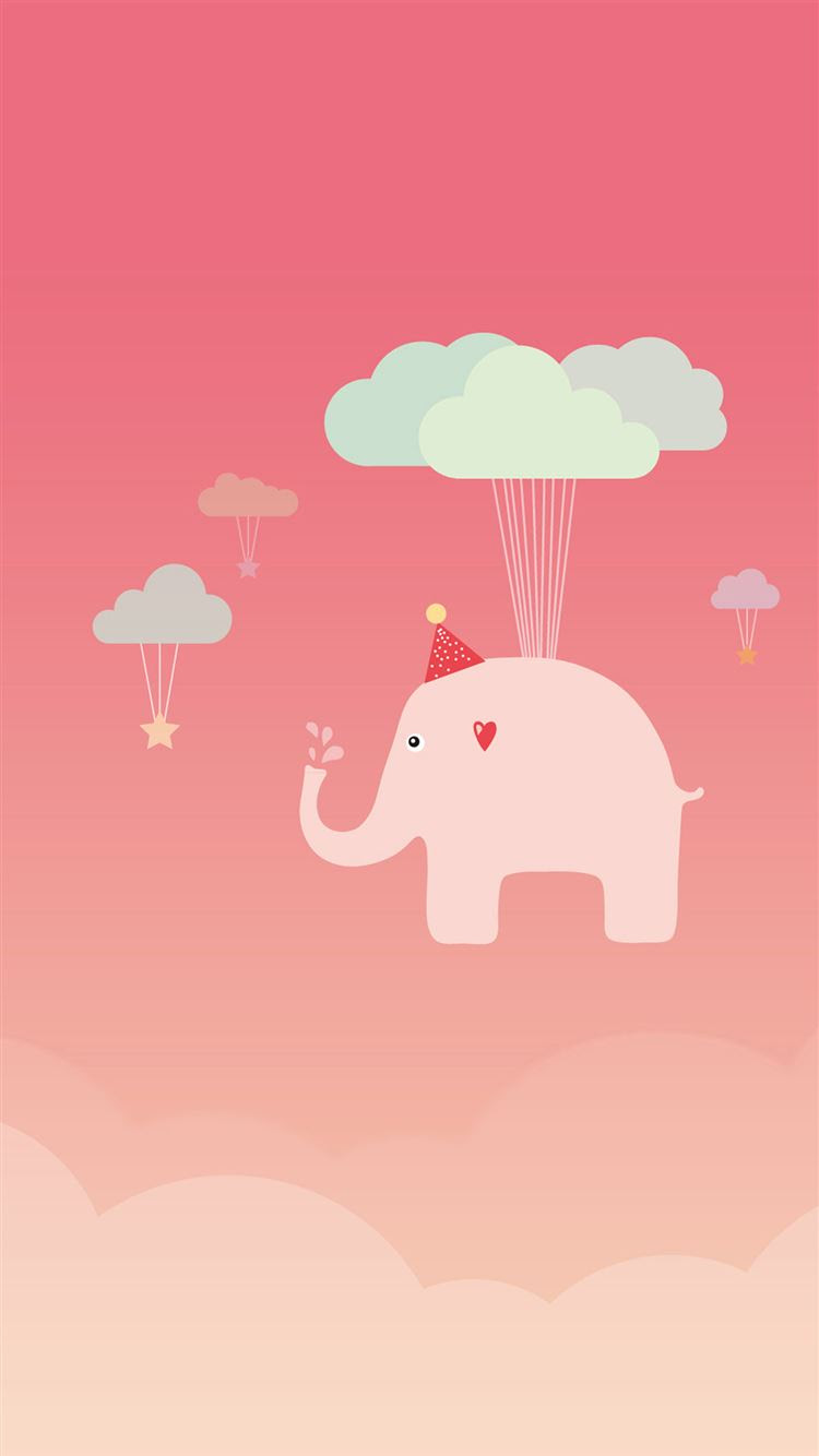 Cute Elephant iPhone 8 Wallpaper Download | iPhone Wallpapers ...