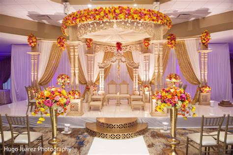 Heavenly Indian wedding Mandap decorations.   Photo 164175