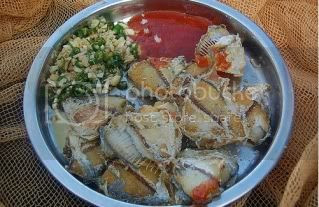 gambar sejenis masakan menggunakan ikan kekek