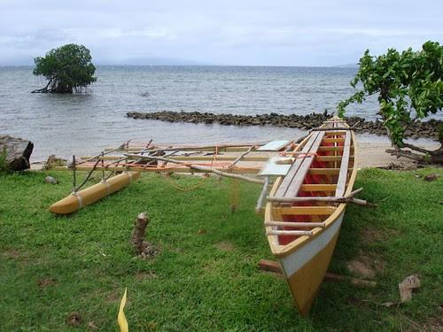 Rabi sailing canoe