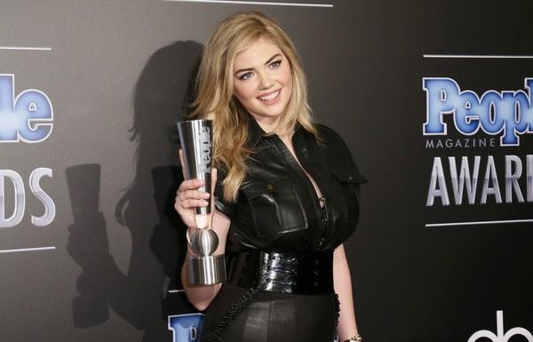 Кейт Аптон получила награду как самая сексуальная женщина планеты