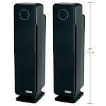 "GermGuardian Elite 28"" HEPA Tower Air Purifier w/ Digital Display 2-pack"
