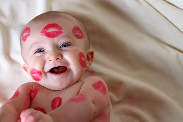Image result for baby kissing