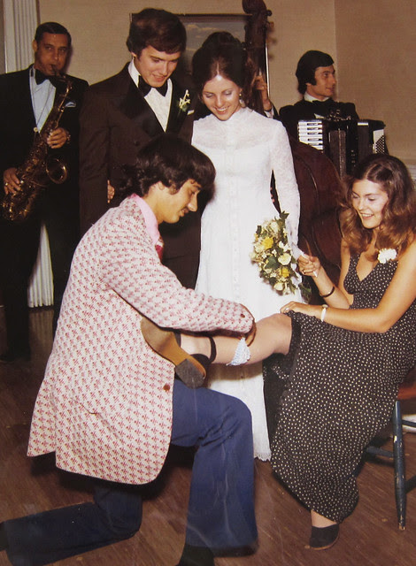 this is what weddings in the 70s looked like