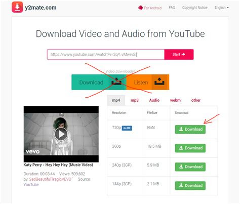 ymatecom review youtube mp mp downloader tutorial step