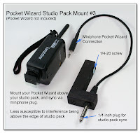 CP1087: PW Studio Pack Mount #3 with Custom Sync Cord