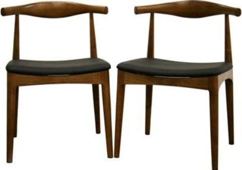 Wholesale Interiors DC-593 Sonore Solid Wood Mid-Century Style