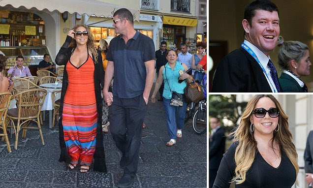 Mariah Carey is 'dating' Australian casino billionaire James Packer as pair are seen