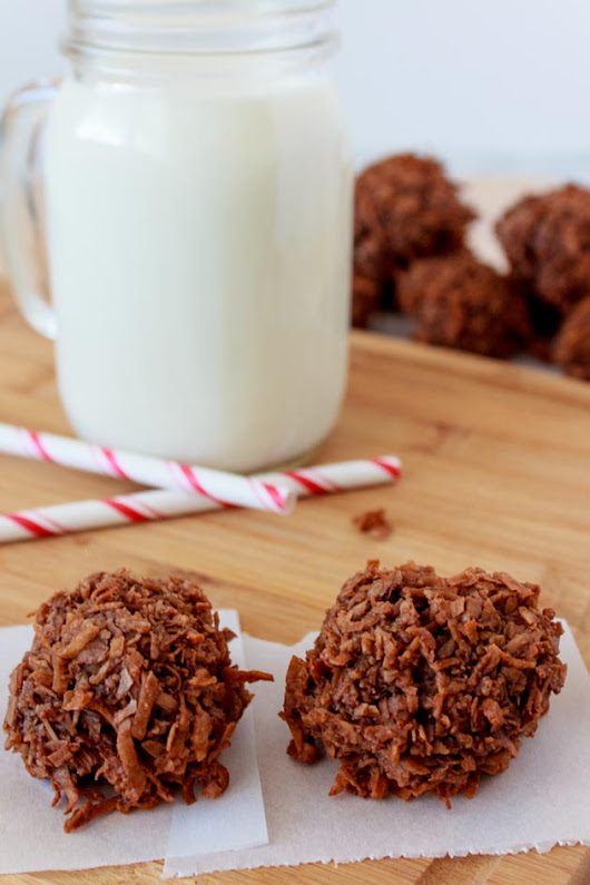 Chocolate Coconut Macaroons Recipe | Sassy Girlz