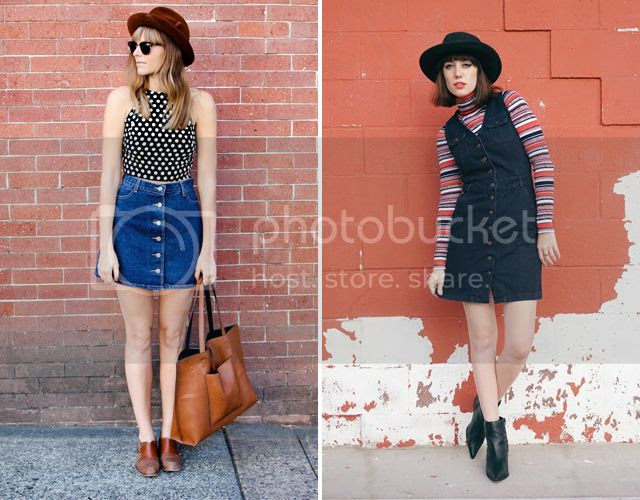 Steffy's Pros and Cons and A Fashion Nerd in button down denim for fall