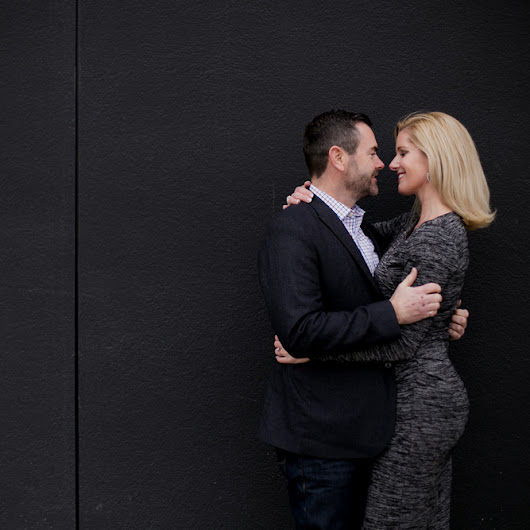 Engagement Photos in Exchange District | Erica + Blair