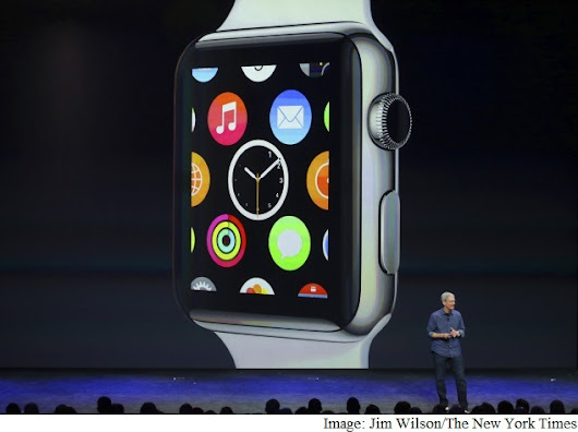 Apple's New Job: Selling a Smartwatch to an Uninterested Public
