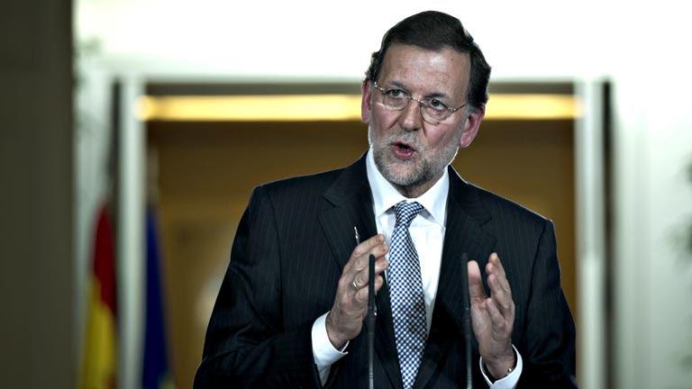 Mariano Rajoy en una comparecencia especial ha hecho balance del año 2012