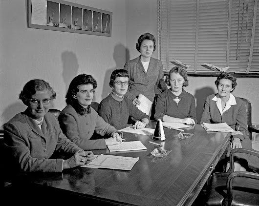 Women Scientists at NASA in January 1959
