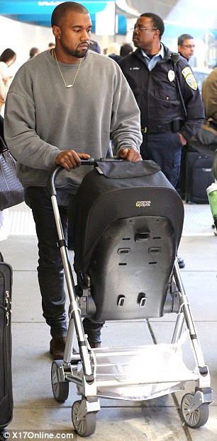 Daddy duties! Meanwhile, Kanye West was seen on Sunday with daughter North West strolling through San Francisco