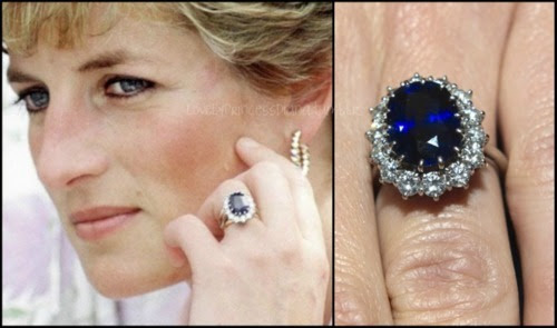 Princess diana wedding rings