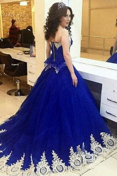 Royal Blue Quinceanera Dress on Luulla