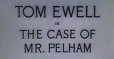 The Case Of Mr Pelham