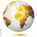 ☆SOLD on #Fotolia!☆ #Golden #Earth / #World #Globe-#Vector © bluedarkat #35202835 - http://us.fotolia.com...