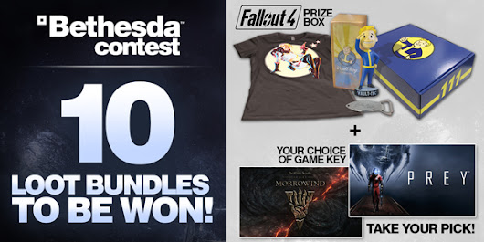 Pick your Bethesda Prize - April 2017