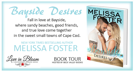 #ARCBookReview, #Giveaway: Bayside Desires (Love in Bloom: Bayside Summers #1) by Melissa Foster
