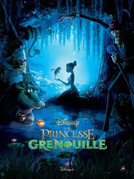 """Résultat de recherche d'images pour """"la princesse et la grenouille affiche"""""""