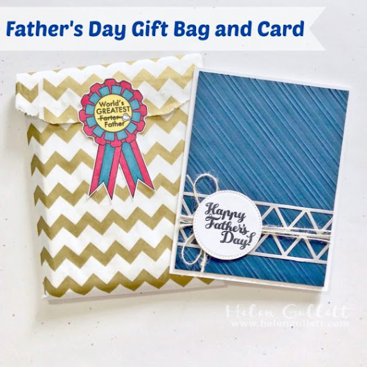 Father's Day Gift Idea: Gift Bag and Card Set