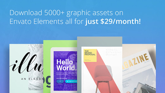 Envato elements: a new marketplace for designers