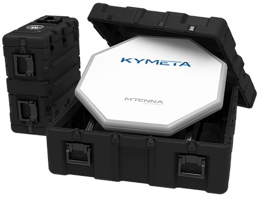 Kymeta introduces portable KyWay Go satellite data terminal – GeekWire