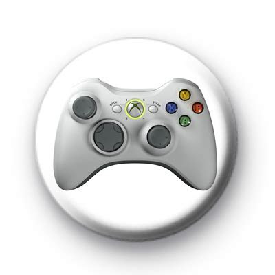 Xbox 360 Controller badge : Kool Badges   25mm Button Badges