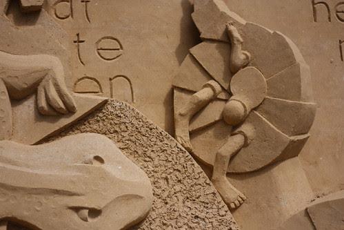 Esculturas de areia em Haia - 2010
