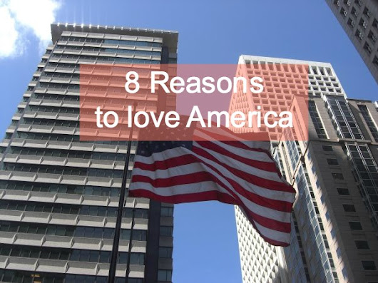 8 Reasons to Love America this Thanksgiving