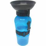 Highwave AutoDogMug Pet Sport Bottle - Portable Water Bowl - Holds 20 oz - Blue