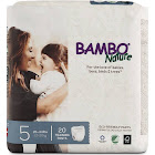 Bambo Nature Premium Training Pants, Size 5 26-44 lbs, 20 Count