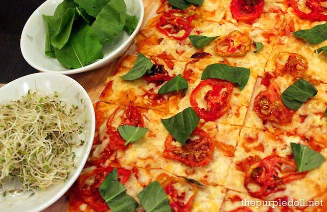 Vegetarian Panizza P395