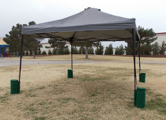 Anchor Down Those Portable Canopies & Awnings!