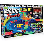 Magic Tracks Mega Set with 2 LED Race Car