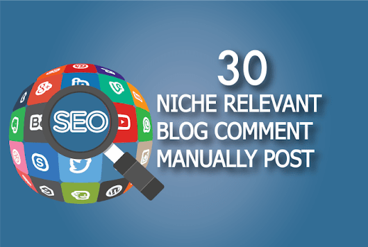 sabakhan695 : I will do 30 niche relevant blog comment quality work for $5 on www.fiverr.com