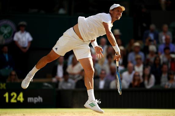Tomas Berdych ha opuesto resistencia, pero Federer ha sido más decisivo en los momentos calientes (Getty)
