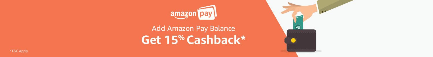 LOOT Deal - Get 15% Cashback on adding Amazon Pay balance