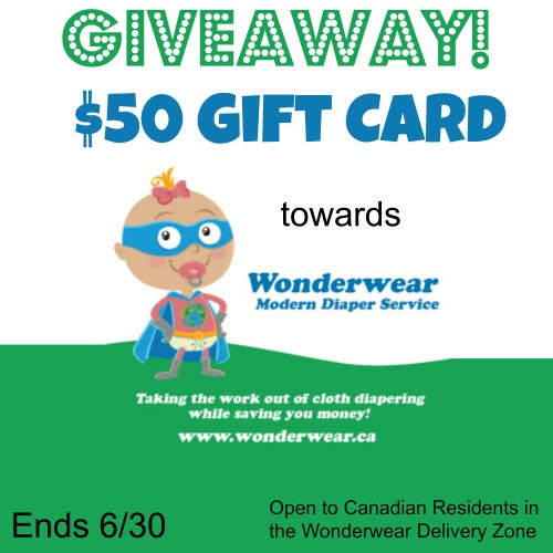 Your Contests Canada: Win $50 Gift Card toward Wonderwear Diaper Service