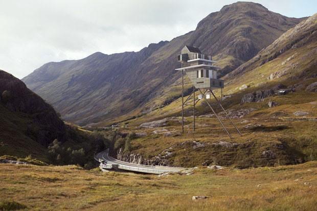 Casa na escócia de Benoit Challand (Foto: Alexis Raimbault)