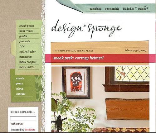 design*sponge sneak peek: Cortney Heimerl