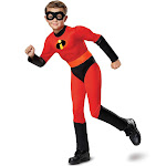 Disney Toddler The Incredibles Dash Classic Muscle Halloween Costume with Sound 2T