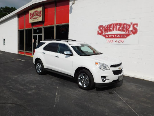 Used 2015 Chevrolet Equinox LTZ AWD for Sale in Jersey Shore PA 17740 Sweitzer's Auto Sales