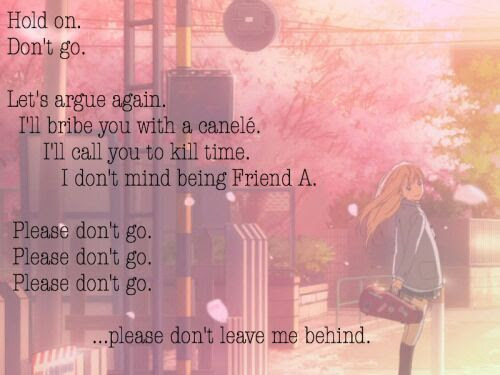 Your Lie In April Quote Anime Amino