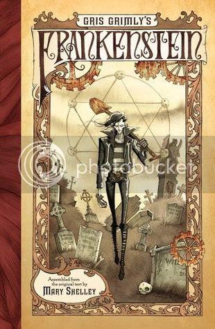 Gris Grimlys Frankenstein Cover