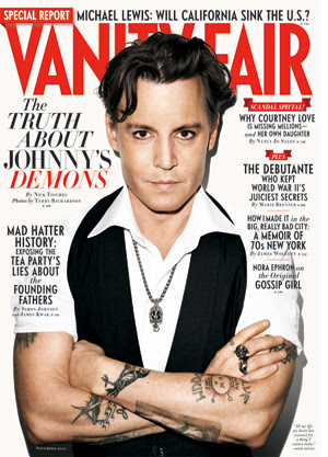 Johnny Depp Vanity Fair (Foto: Vanity Fair)