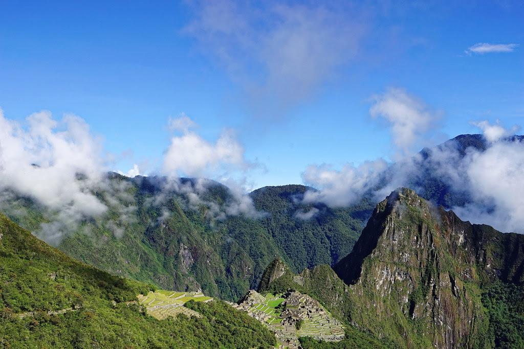 Machupicchu from Inca trail