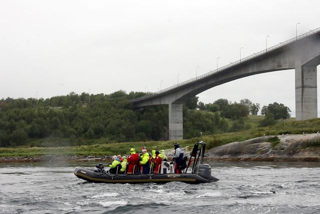 IMG_4493 Saltstraumen inflatable boat